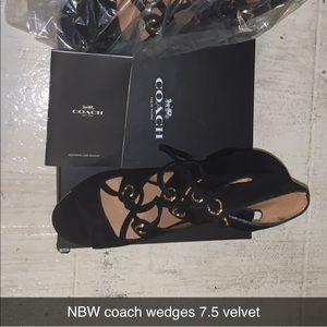 Coach wedge 7.5